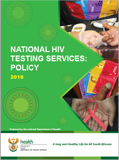 National HIV testing services: policy