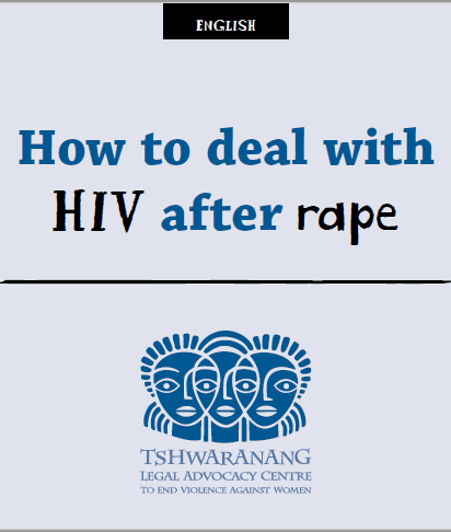 How to deal with HIV after rape