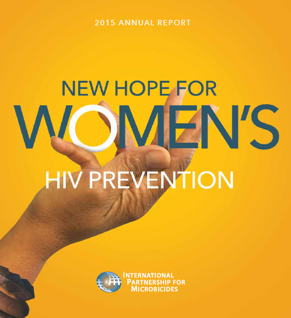 2015 Annual Report: New Hope For Women`s HIV Prevention