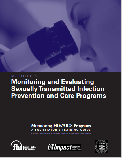 Monitoring and Evaluating Sexually Transmitted Infection Prevention and Care Programs