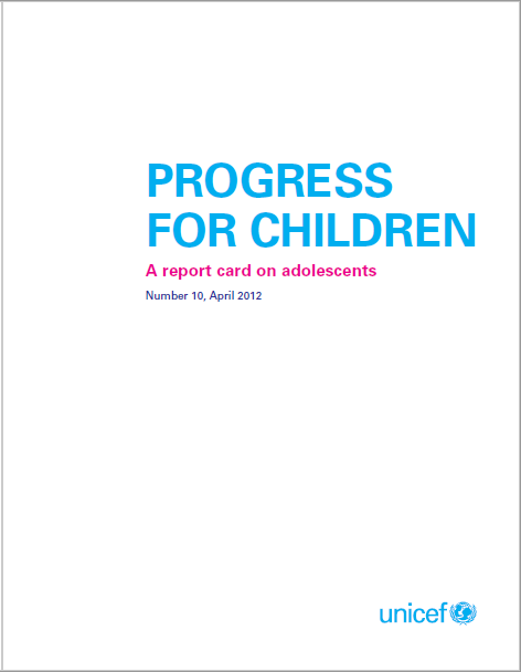 Progress for children – A report card on adolescents