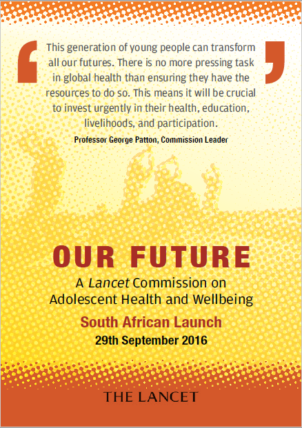 Our future – a Lancet commission on adolescent health and wellbeing