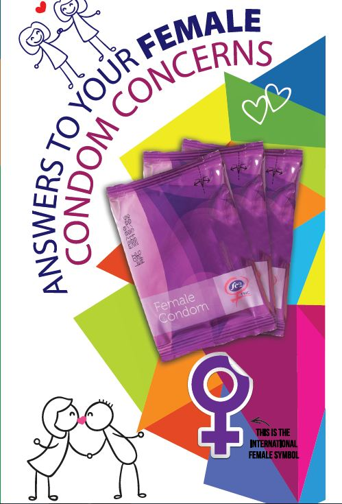 Answers to your male and female condom concerns