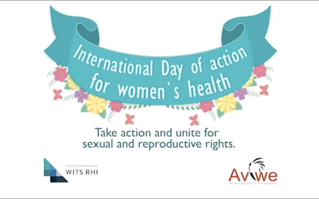International Day of Action for women`s health