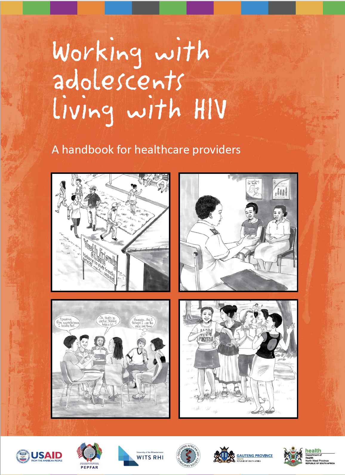 Working with adolescents living with HIV: A handbook for healthcare providers