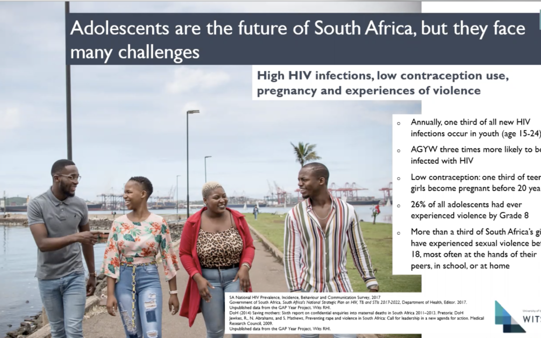Adolescent experiences of and recommendations for healthcare services in the GAP Year Trial, Gauteng, South Africa